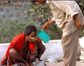 Helping Others Poverty India